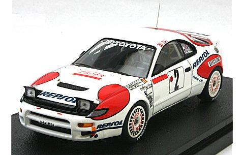トヨタ セリカ ターボ 4WD No2 1992 モンテカルロ C・サインツ (1/43 hpiレーシング8003)