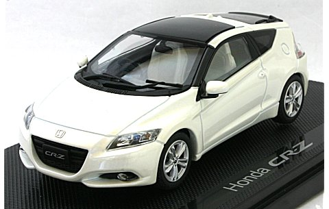 ホンダ CR-Z ホワイト (1/43 エブロ44320)