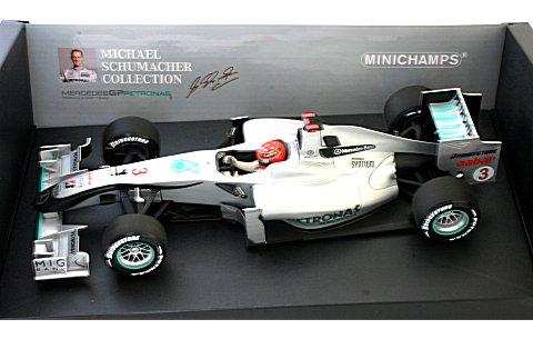 メルセデス GP M・シューマッハ ショーカー 2010 (1/18 ミニチャンプス150100073)
