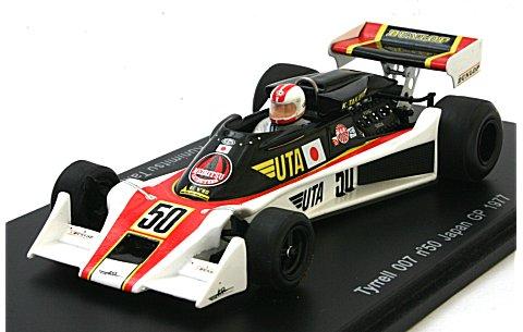 ティレル 007 No50 1977 日本GP 高橋国光 (1/43 スパークモデルS1639)