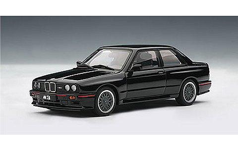 BMW M3 スポーツエボリューション 1990 ブラック (1/43 オートアート50562)