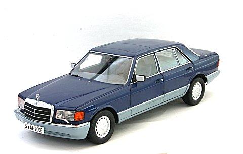 メルセデスベンツ 560 SEL 1985 Mブルー (1/18 ノレブ183545)