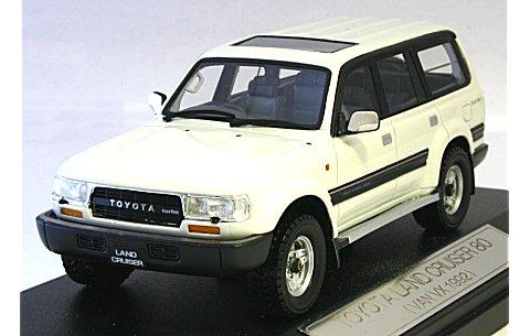 トヨタ ランドクルーザー 80 1993 VAN VX リミテッド ホワイト (1/43 ハイストーリーHS032WH)