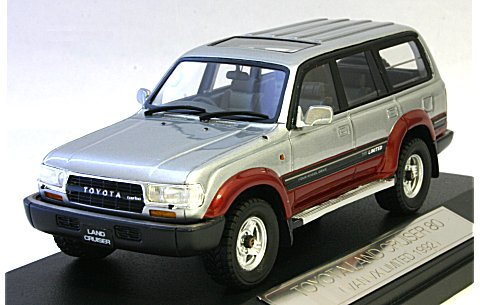 トヨタ ランドクルーザー 80 1993 VAN VX リミテッド アドベンチャーロード トーニング (1/43 ハイストーリーHS032AT)