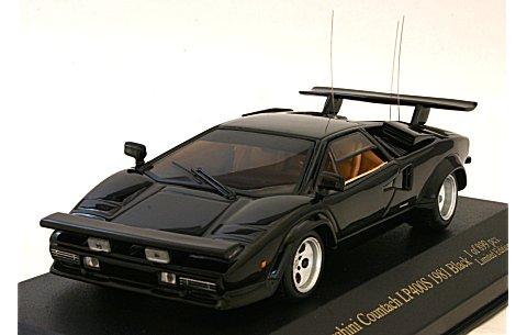 ランボルギーニ カウンタック LP400S 1981 ブラック (1/43 ジールZI-L06)