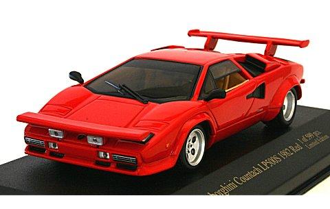ランボルギーニ カウンタック LP500S 1982 レッド (1/43 ジールZI-L07)