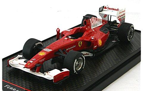 フェラーリ F60 「Santander」 2010 ポール・リカール F・アロンソ (1/43 BBR BBRC34)