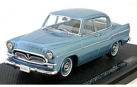 トヨペット クラウン DX 1958 (RS21) ブルーM (1/43 エブロ44351)