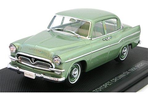 トヨペット クラウン DX 1958 (RS21) グリーンM (1/43 エブロ44352)