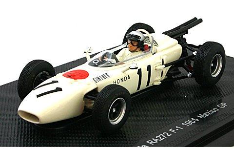 ホンダ RA272 1964 メキシコGP No11 (1/43 エブロ44260)
