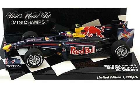 レッドブル レーシング M・ウェバー ショーカー 2010 (1/43 ミニチャンプス400100076)