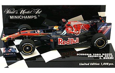 スクーデリア トロロッソ S・ブエミ ショーカー 2010 (1/43 ミニチャンプス400100086)