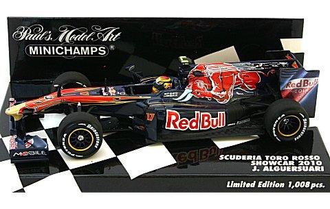 スクーデリア トロロッソ J・アルグエルスアリ ショーカー 2010 (1/43 ミニチャンプス400100087)