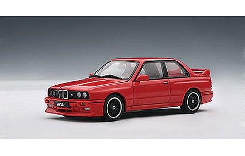 BMW M3 チェコットエディション 1989 レッド (1/43 オートアート50566)