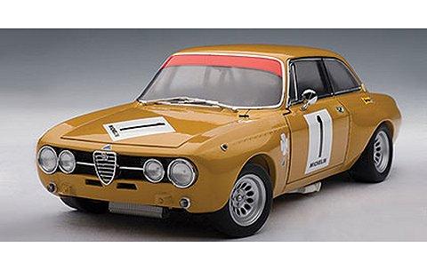アルファロメオ GTAm 1970 No1 (ハラマ) (1/18 オートアート87003)