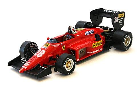 フェラーリ 156/85 No28 ReneArnoux ブラジルGP 1985 (1/43 イクソSF24/85)