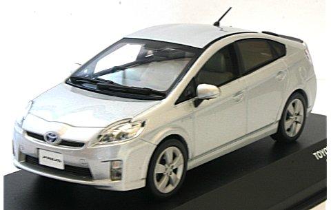 トヨタ プリウス 2009 シルバーM (1/43 JコレクションJC61001SM)