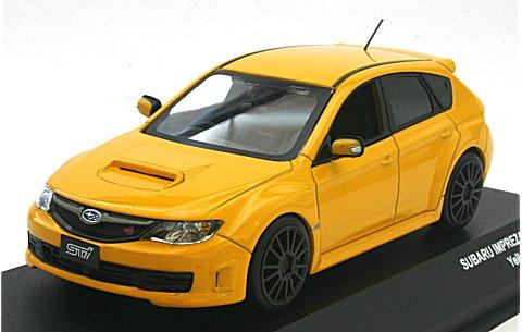 スバル インプレッサ WRX STI スペックC イエロー (1/43 JコレクションJC29002YL)