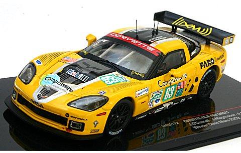 コルベット C6R 2009 ル・マン24時間 クラス優勝 No63 (1/43 イクソLMM172)