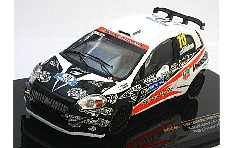 フィアット グランデ プント S2000 No70 2009 ラリー・フィンランド (1/43 イクソRAM393)