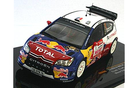 シトロエン C4 No1 WRC 2009 ラリー・デュ・ヴァール優勝 (1/43 イクソRAM405)