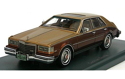 キャデラック セビル 1984 ゴールド/ブラウン (1/43 ネオNEO043726)