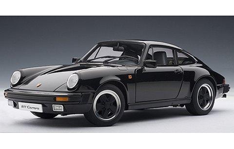 ポルシェ 911 カレラ 1988 ブラック (1/18 オートアート78013)