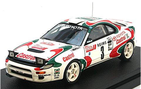 トヨタ セリカ ターボ 4WD No3 1993 モンテカルロ ウイナー (1/43 hpiレーシング8017)
