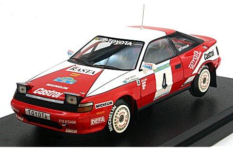 トヨタ セリカ GT-Four No4 1992 スウェディッシュウイナー M・ヨンソン (1/43 hpiレーシング8153)