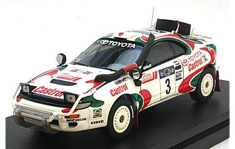 トヨタ セリカ ターボ 4WD No3 1995 サファリラリー (1/43 hpiレーシング8175)