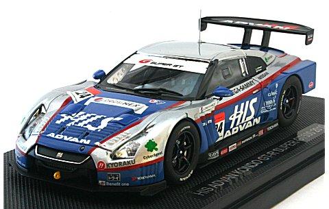 HIS アドバン コンドー GT-R スーパーGT500 2010 (1/43 エブロ44325)