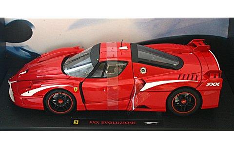 フェラーリ FXX evoluzione レッド/RossoCorsa (1/18 マテルMT6247T)