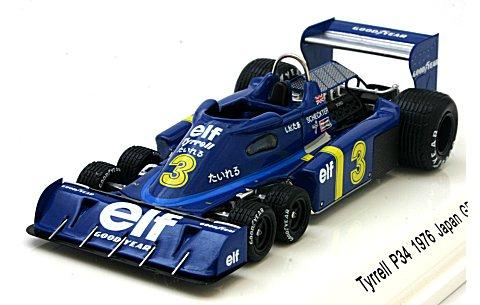 ティレル P34 1976 日本GP J・Scheckter No3 (1/43 レーヴコレクションR70026)