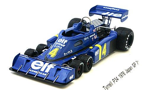 ティレル P34 1976 日本GP 2位 P・Depailler No4 (1/43 レーヴコレクションR70027)