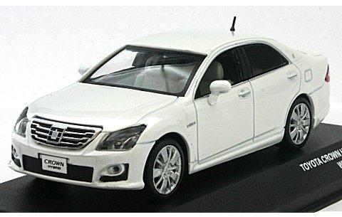 トヨタ クラウン HV 2009 ホワイト (1/43 JコレクションJC51502WP)