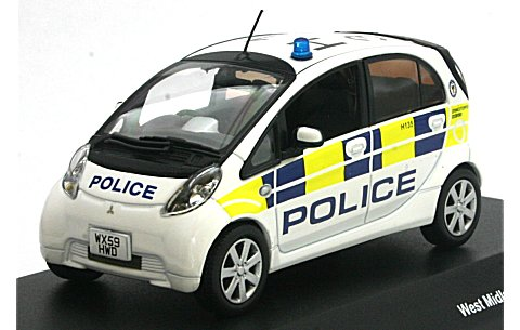 ミツビシ I-MiEV West Midlands police car 2009 (1/43 JコレクションJC59008MP)