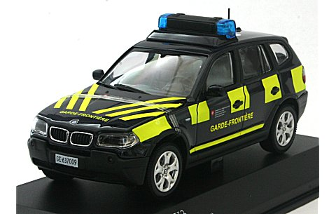 BMW X3 BORDER GUARDS -French Ver. (1/43 京商K03522FR)