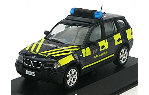 BMW X3 BORDER GUARDS -German Ver. (1/43 京商K03522GE)