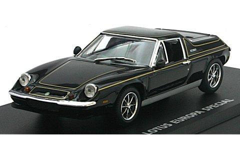 ロータス ヨーロッパ スペシャル ブラック/ゴールドストライプ (1/43 京商K03075BK)