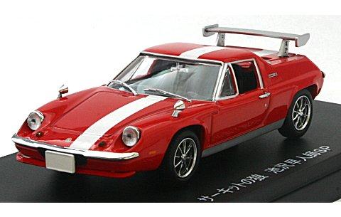 ロータス ヨーロッパ (サーキットの狼 池沢早人師SP) レッド 20周年記念モデル (1/43 京商K03074CWR)