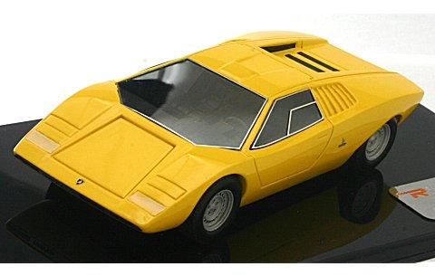 ランボルギーニ カウンタック LP500 プロトタイプ 1971 イエロー (1/43 リアルイノベーションモデルRIM71051)