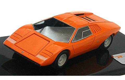ランボルギーニ カウンタック LP500 プロトタイプ 1971 オレンジ (1/43 リアルイノベーションモデルRIM71052)