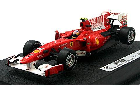 フェラーリ F10 2010 フェルナンド・アロンソ (1/43 マテルMT6289T)