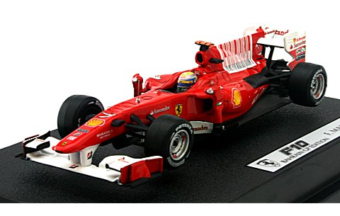 フェラーリ F10 2010 フェリペ・マッサ (1/43 マテルMT6290T)