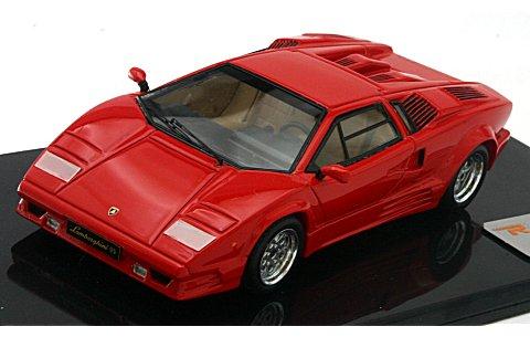 ランボルギーニ カウンタック 25th アニバーサリー レッド (1/43リアルイノベーションモデル RIM71041)