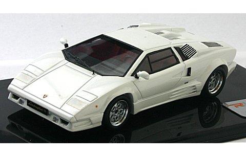 ランボルギーニ カウンタック 25th アニバーサリー パールホワイト (1/43リアルイノベーションモデル RIM71042)