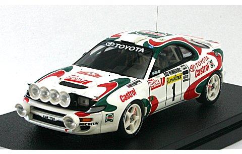 トヨタ セリカ ターボ 4WD No1 1994 モンテカルロ J・Kankkunen (1/43 hpiレーシング8173)