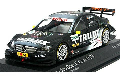 メルセデスベンツ Cクラス 2009 TRILUX チーム HWA R・シューマッハ DTM (1/43 ミニチャンプス400093904)