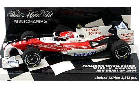 パナソニック トヨタ レーシング TF109 小林可夢偉 2009 (1/43 ミニチャンプス400090110)