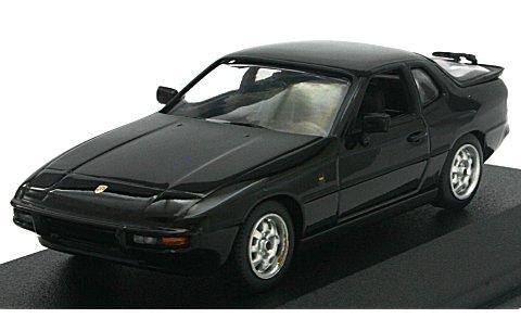 ポルシェ 924 1984 ブラック (1/43 ミニチャンプス400062122)
